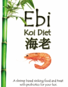 Ebi Shrimp based Koi Diet